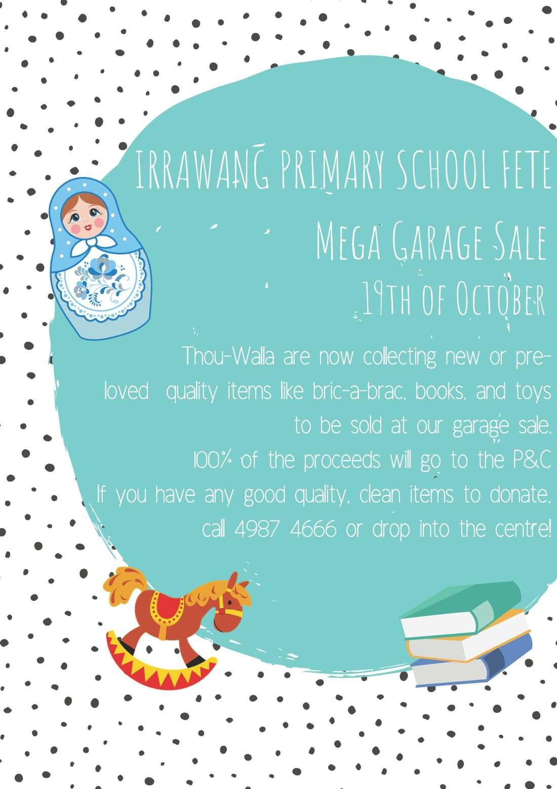 Irrawang primary school fete