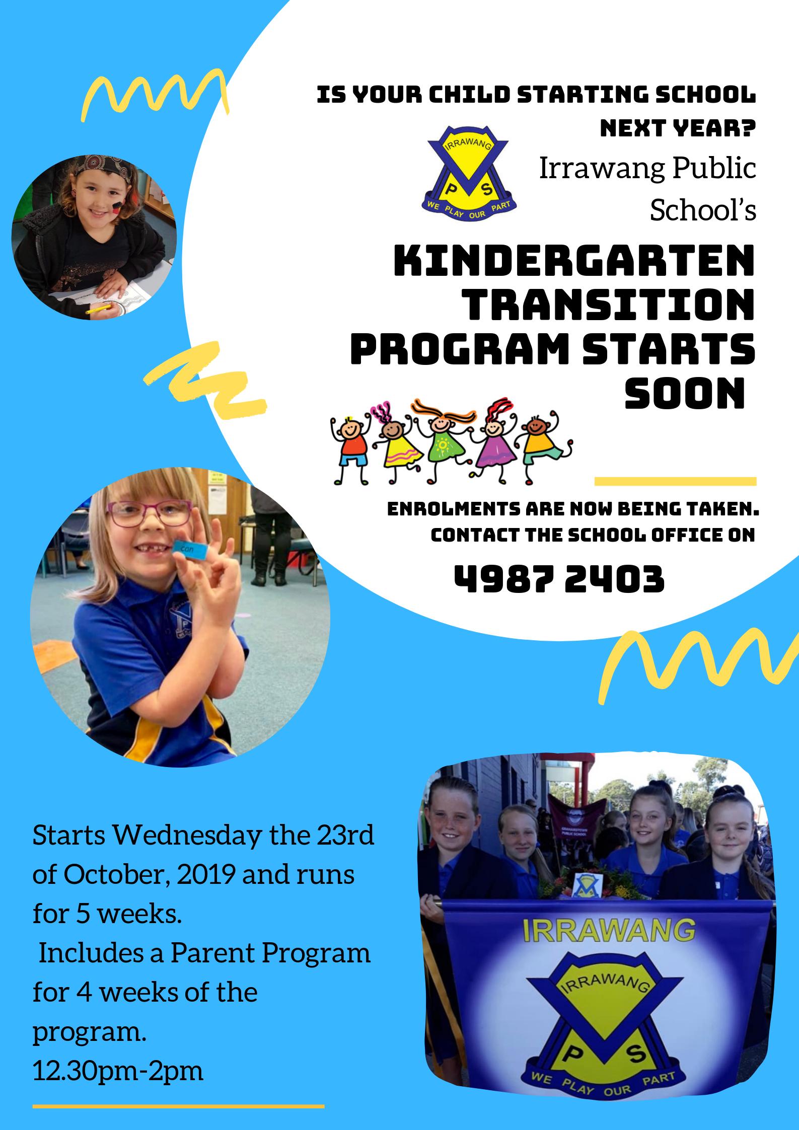 Copy of Kindergarten 2019 flyer