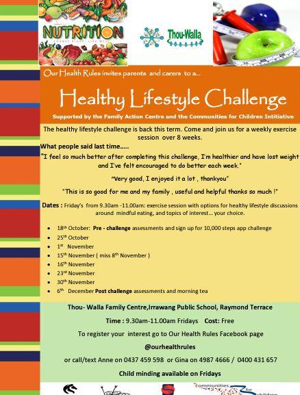 HealthyLifestyleChallenge